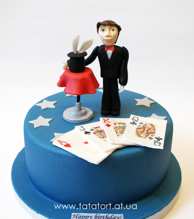 Торт для фокусника картинки