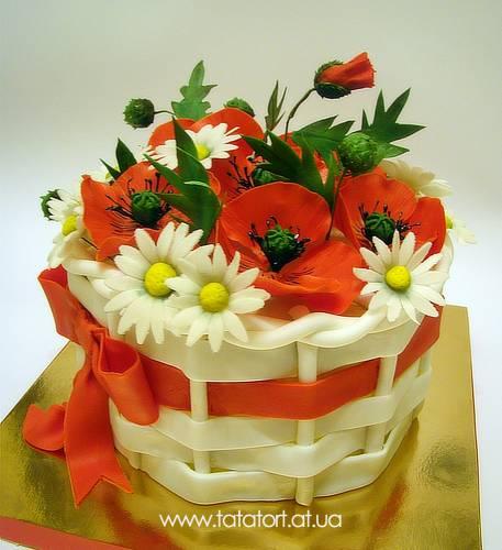 Мак торт фото