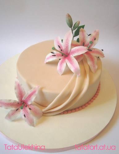 Свадебные и романтические торты